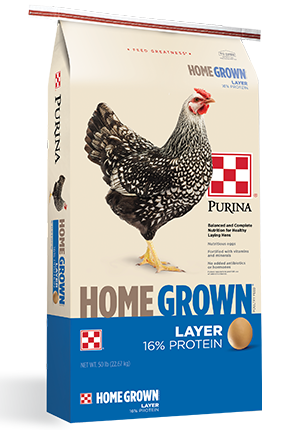 Purina 50lb. Home Grown Layer for $6.49!