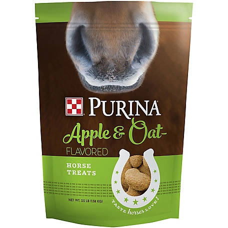 $1 Off Purina Apple & Oat Horse Treats 3.5#