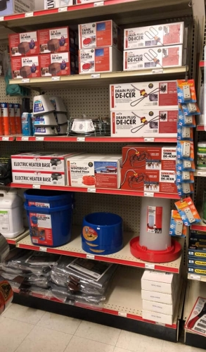 10% Off De-Icer and Heating Products