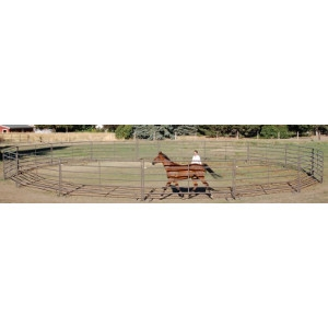 Powder River 60 Ft. Round Pen With Bow Gate
