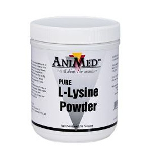L-Lysine Powder Supplement 16 Oz.
