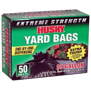 Husky Garbage Bags 39 Gallon