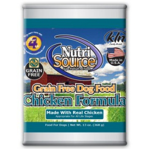 NutriSource® Grain Free Chicken Formula Canned Food