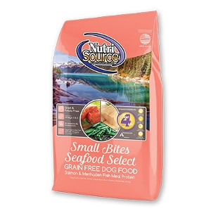 NutriSource® Grain Free Small Bites Seafood Select Dog Food