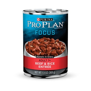 Pro Plan Focus Beef and Rice 13 Oz. Canned Dog Food