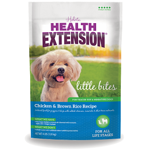 Health Extension Little Bites Chicken and Brown Rice Dog Food