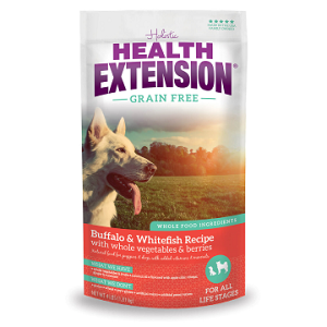 Health Extension Grain Free Buffalo & Whitefish Dog Food