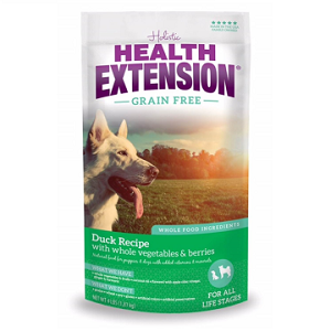 Health Extension Grain Free Duck & Chickpea Dog Food