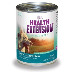 Health Extension Grain Free Tasty Turkey Stew Canned Dog Food