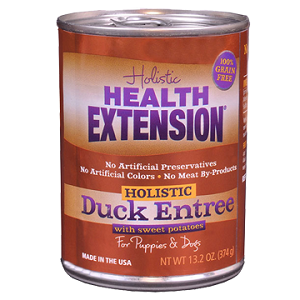 Health Extension Duck and Sweet Potato Entree Canned Dog Food