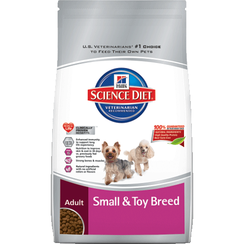 Science Diet® Adult Small & Toy Breed Dog Food