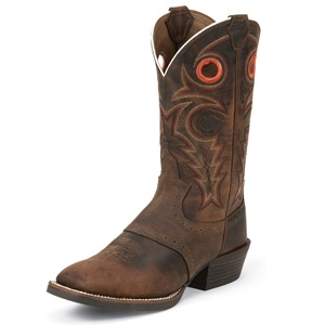 Justin Boots Whiskey Buffalo Boot