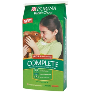 Purina® Rabbit Chow® Complete Wholesome AdvantEdge