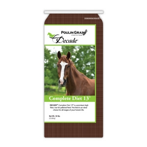 Poulin Grain Decade Complete Diet for Horses