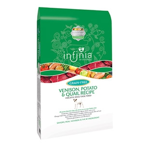 Infinia Grain Free Venison, Potato & Quail Dog food