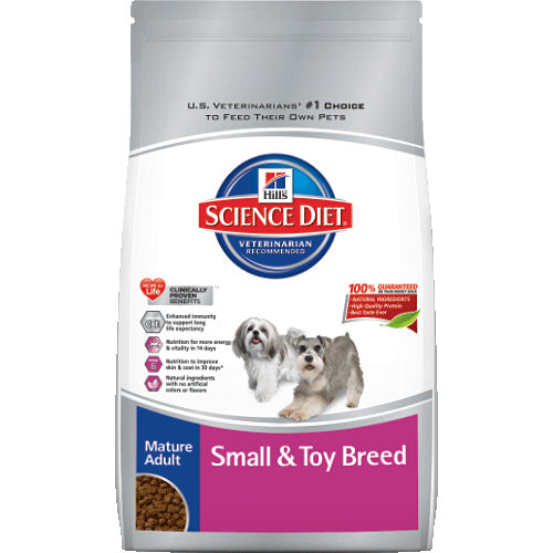 Science Diet® Mature Small and Toy Breed Dog Food