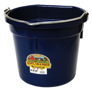Flat Back Bucket - Navy
