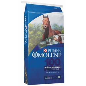 Purina® Omolene #100® Active Pleasure Horse Feed