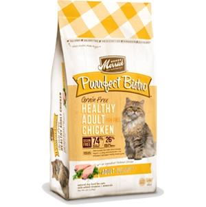 Purrfect Bistro Grain Free Healthy Adult Chicken Cat Food