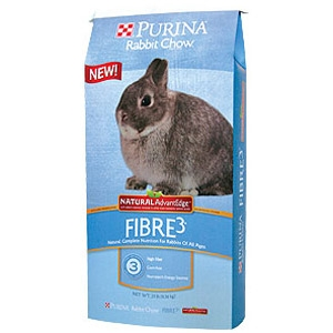 Purina® Rabbit Chow™ Fibre3® Natural AdvantEdge™