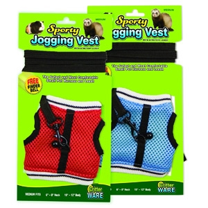 Critter Ware Sporty Joggy Vest Small Pet Harness/Leash