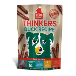 Plato® Duck Thinkers Dog Treats
