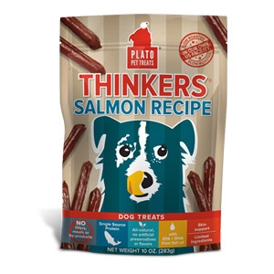 Plato® Salmon Thinkers Dog Treats