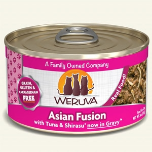 Asian Fusion with Tuna & Shirasu in Gravy Classic Canned Cat Food 24/5.5 oz.