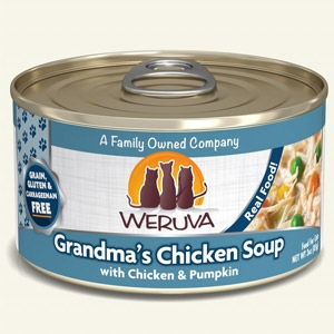 Grandma's Chicken Soup with Chicken & Pumpkin Classic Canned Cat Food 24/5.5 oz.