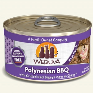 Polynesian BBQ with Grilled Red Bigeye in Gravy Classic Canned Cat Food 24/5.5 oz.