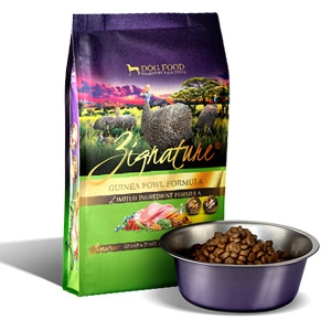 Zignature® Guinea Fowl Formula for Dogs