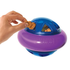 The KONG® Hopz Treat Dispenser