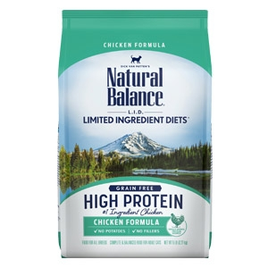 Natural Balance® L.I.D. High Protein Dry Cat Food Chicken Flavor