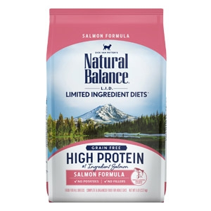 Natural Balance® L.I.D. High Protein Dry Cat Food Salmon Flavor