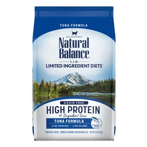 Natural Balance® L.I.D. High Protein Dry Cat Food Tuna Flavor