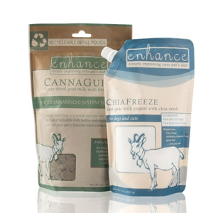 Enhance CannaGurt Calming Supplement for Pets