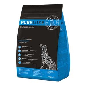 PureLuxe® Elite Nutrition GF Holistic Fresh Turkey for Adult Dogs