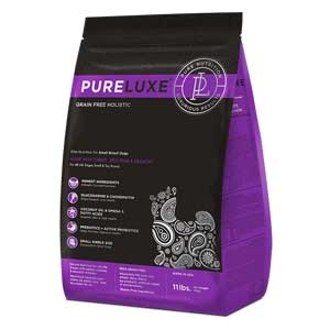 PureLuxe® Elite Nutrition GF Holistic Turkey, Split Peas & Salmon for Small Breed Dogs