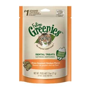 Feline Greenies™ Oven Roasted Chicken Flavor Dental Treats