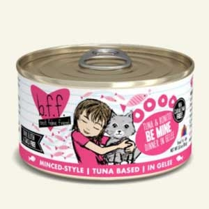 Weruva Best Friend Feline (BFF) Tuna and Bonito Be Mine  5.5 oz Can