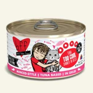 Weruva Best Friend Feline (BFF) Tuna Too Cool  5.5 oz Can