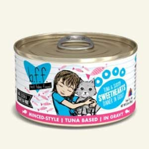 Weruva Best Friend Feline (BFF) Tuna and Shrimp Sweethearts  5.5 oz Can