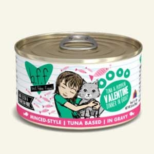 Weruva Best Friend Feline (BFF) Tuna and Veggies Valentine  5.5 oz Can