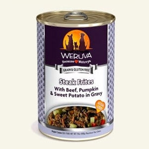 Steak Frites Wet Dog Food