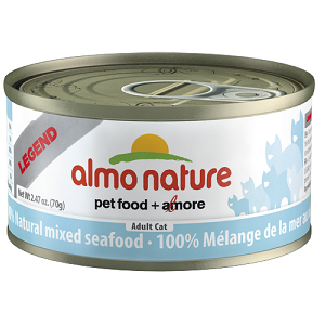 100% Natural Mixed Seafood Wet Cat Food