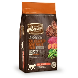 Merrick Grain Free Real Texas Beef and Sweet Potato 12 lb.