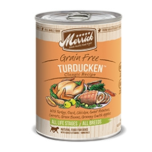 Merrick Turducken Can Dog 12/13.2 oz.