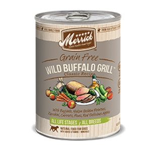 Merrick Wild Buffalo Grill Can Dog 12/13.2 oz.