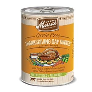 Merrick Thanksgiving Dinner Can Dog 12/13.2 oz.