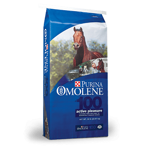 Purina Omolene #100® Pleasure Horse Feed